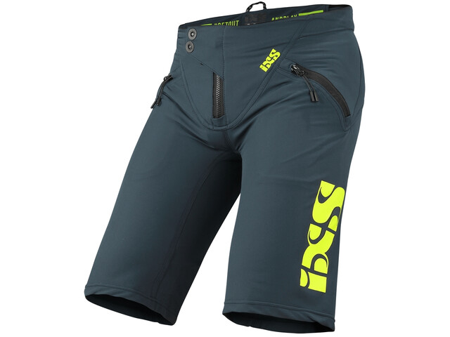 IXS Trigger Short Homme, marine/lime